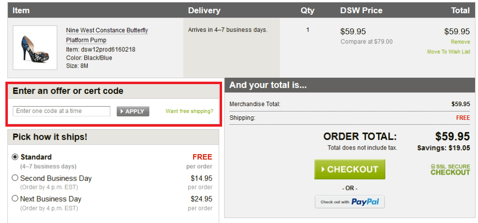DSW Shoes Coupons 01