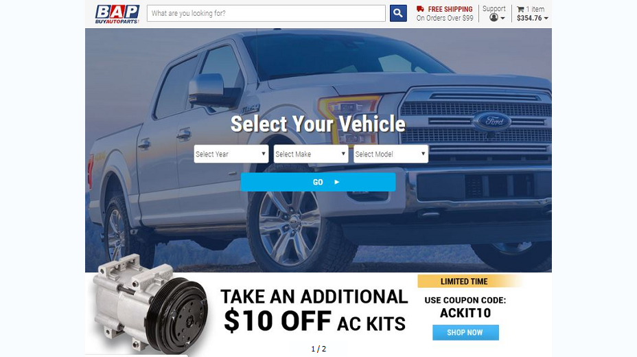 Buy Auto Parts Coupons
