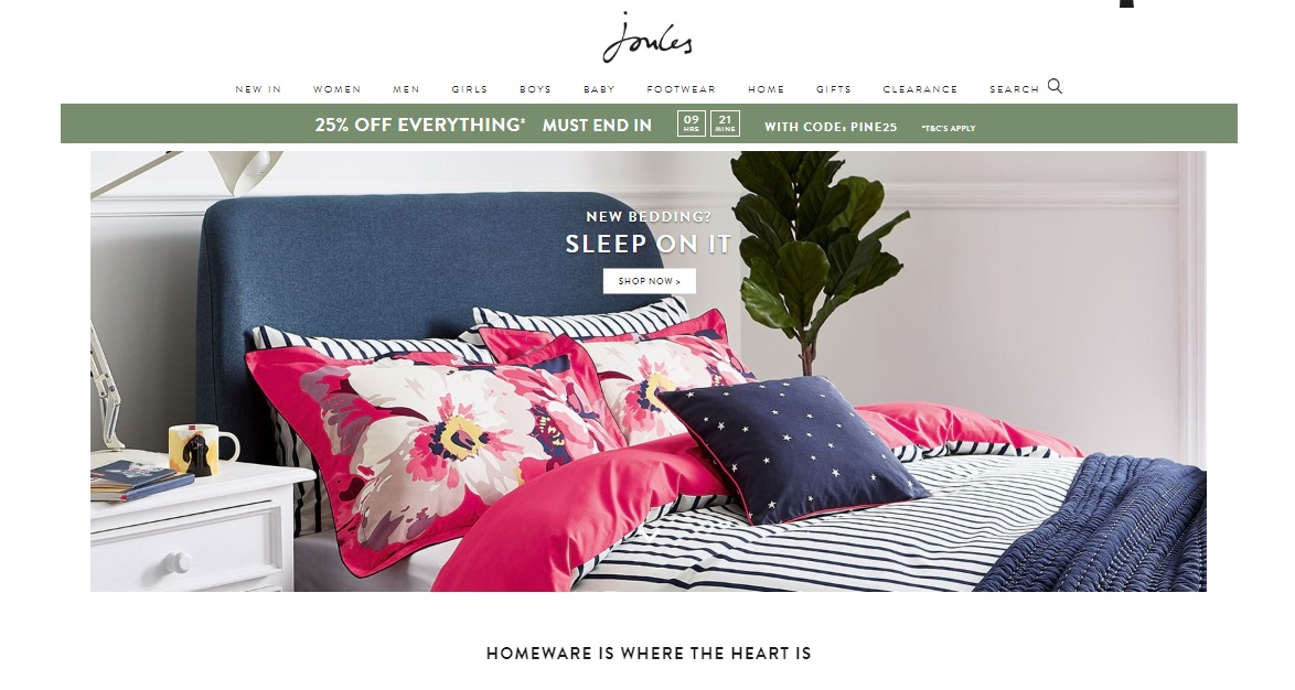 Joules Coupons