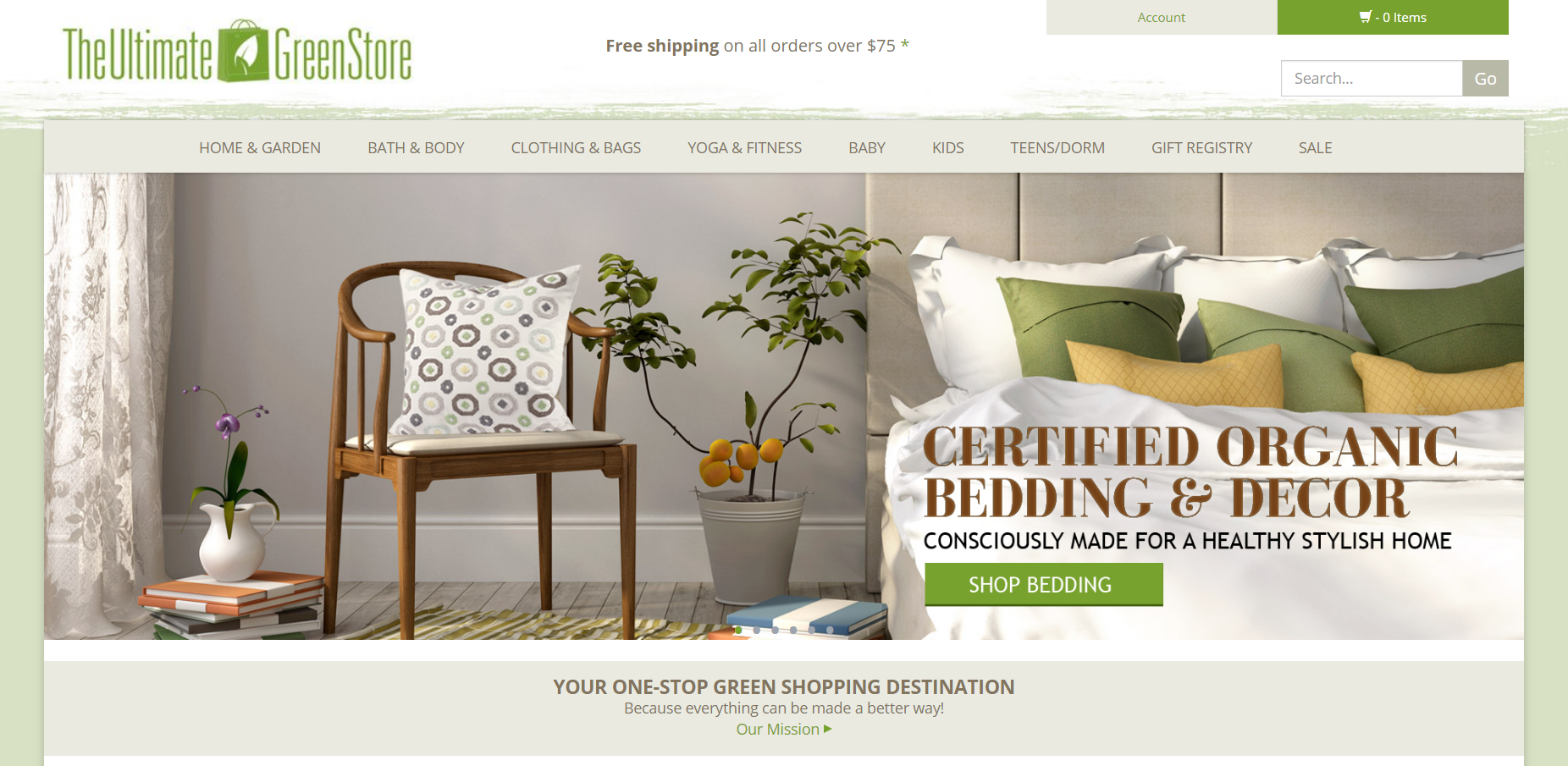 The Ultimate Green Store Coupons