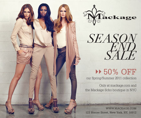 Mackage Coupons